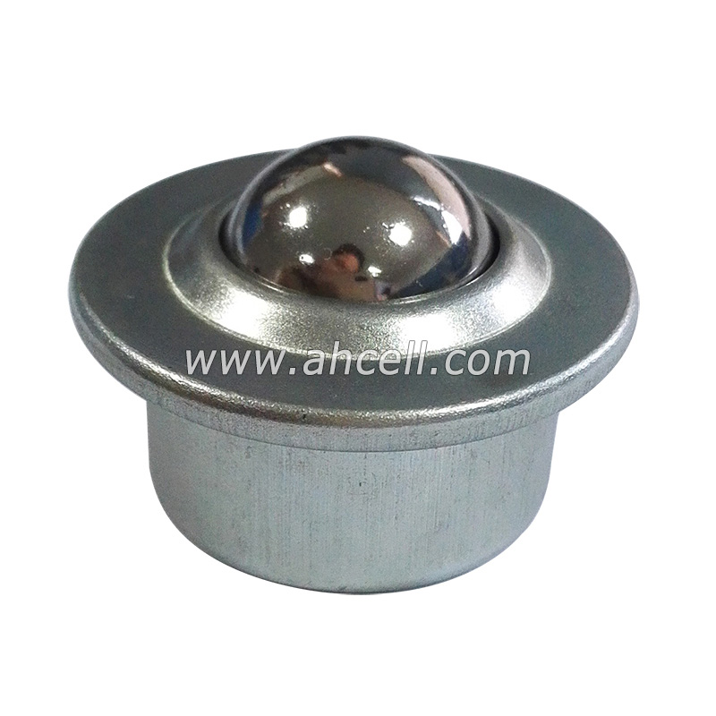 JINLI-CASE Wheels CY-30H 304 Stainless Steel Ball and Shell Stud Mount Ball Transfer Unit Load Capacity 70-85kgs Conveyor Ball Bearing Roller Ball Size : CY 30H